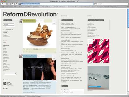 screenshot ReformRevolution