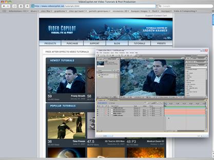 screenshot VIDEOCOPILOT