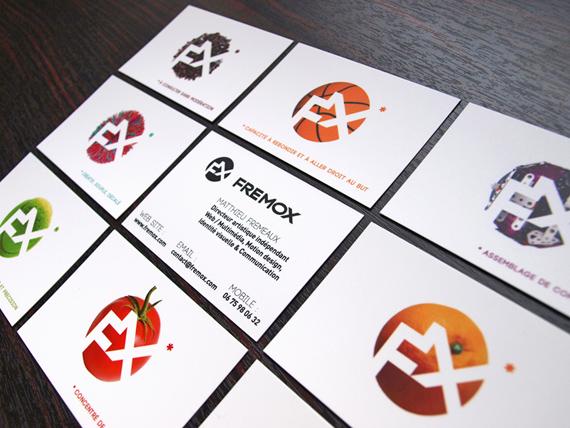 Permis Dimprimer Differentes Variantes Graphiques De Mon Logo Sur Chaque Verso Mes Cartes Avec Une Petite Asterisque Renvoyant A Fois